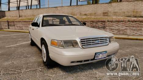 Ford Crown Victoria 1998 v1.1 para GTA 4