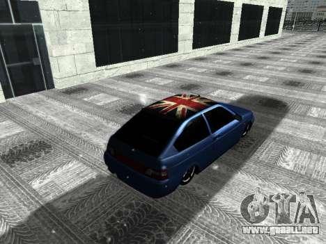 VAZ 21123 para la visión correcta GTA San Andreas