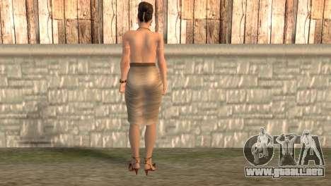 Èksella para GTA San Andreas segunda pantalla