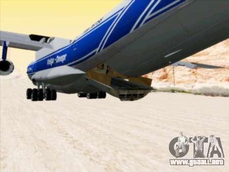 Il-76td-90vd a Volga-Dnepr para visión interna GTA San Andreas