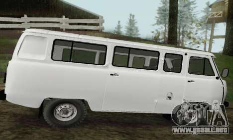 Pan de 2206 UAZ para GTA San Andreas left