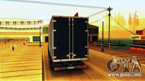 KAMAZ 5410 para la visión correcta GTA San Andreas