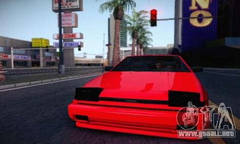 Toyota Corolla GT-S 1985 para GTA San Andreas left