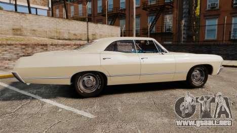 Chevrolet Impala 1967 para GTA 4 left