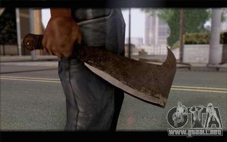 Machete para GTA San Andreas tercera pantalla