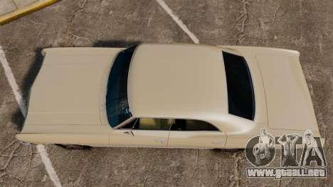 Chevrolet Impala 1967 para GTA 4 visión correcta