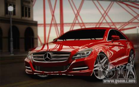 Mercedes-Benz CLS 63 AMG 2012 Fixed para vista lateral GTA San Andreas