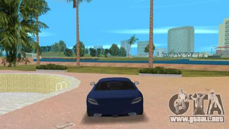 Mercedes-Benz SLS AMG V12 para GTA Vice City vista lateral izquierdo