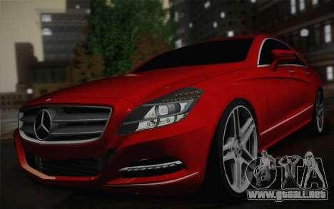 Mercedes-Benz CLS 63 AMG 2012 Fixed para la visión correcta GTA San Andreas