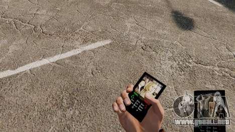 Tema de héroes para su teléfono para GTA 4