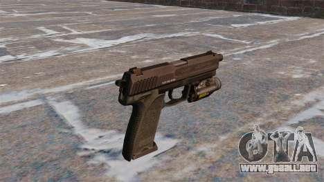Pistola HK USP 45 MW3 para GTA 4 segundos de pantalla