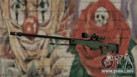 AWP from CS:GO para GTA San Andreas
