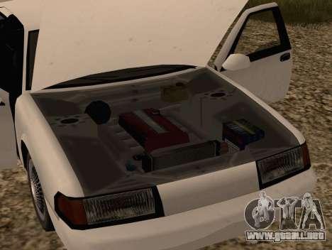 Fortune Sedan para la visión correcta GTA San Andreas