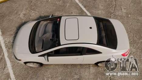 Honda Civic Si v2.0 para GTA 4 visión correcta