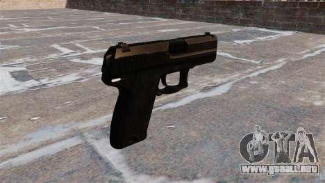 V1.3 pistola HK USP Compact para GTA 4 segundos de pantalla