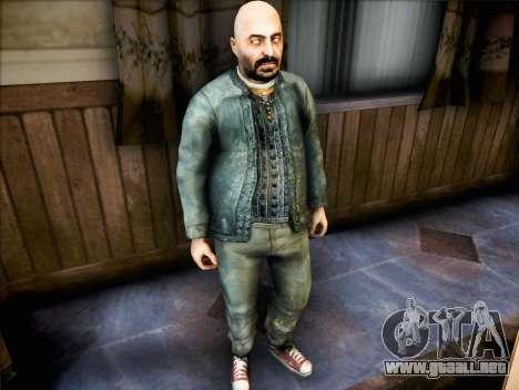 Sacerdote de Half Life 2 para GTA San Andreas segunda pantalla