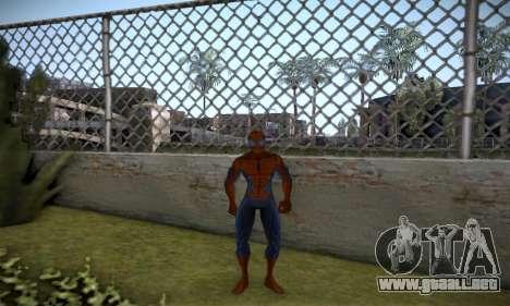Spider man EOT Full Skins Pack para GTA San Andreas tercera pantalla