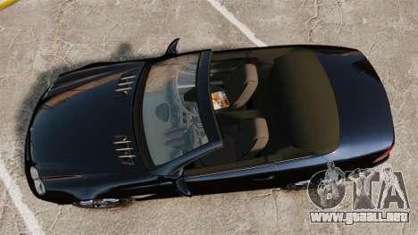 Mercedes-Benz SL65 AMG para GTA 4 visión correcta