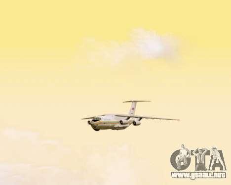 Il-76td EMERCOM de Rusia para visión interna GTA San Andreas