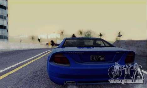 Feltzer de GTA IV para GTA San Andreas vista posterior izquierda