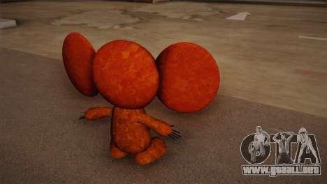 Cheburashka para GTA San Andreas segunda pantalla