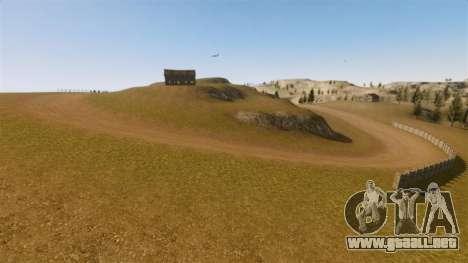 Cliffside ubicación Rally para GTA 4 séptima pantalla