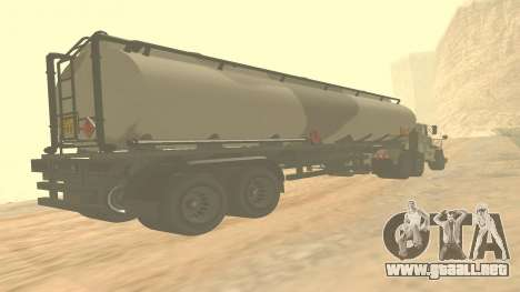Trailer de GTA 5 cuarteles ver 2 para GTA San Andreas
