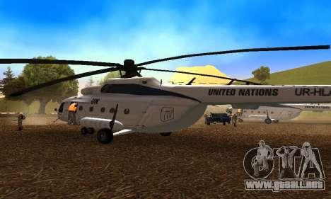 MI 8 ONU (Naciones Unidas) para la visión correcta GTA San Andreas