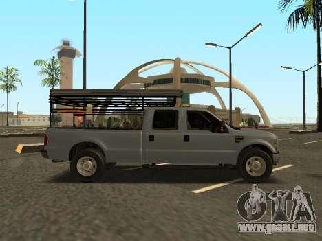Ford F-350 para la visión correcta GTA San Andreas