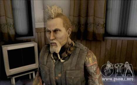 Mathias Nilsson de mercenarios 2 para GTA San Andreas tercera pantalla