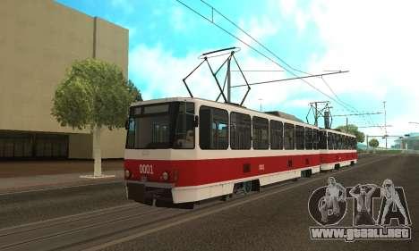 Tatra T6B5 para GTA San Andreas