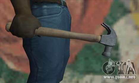Martillo de GTA V para GTA San Andreas tercera pantalla