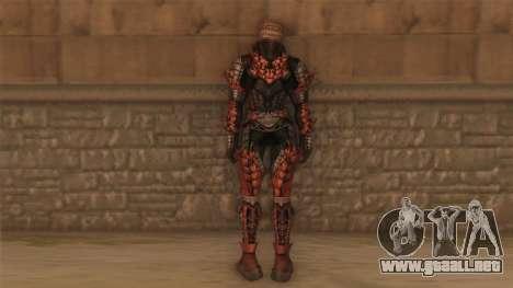 Guerrero de Lineage 2 para GTA San Andreas segunda pantalla