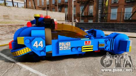 Lego Car Blade Runner Spinner [ELS] para GTA 4 left