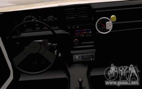 Fiat 147 Spazio-TR para la visión correcta GTA San Andreas