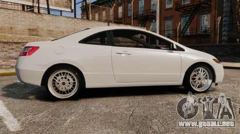 Honda Civic Si v2.0 para GTA 4 left