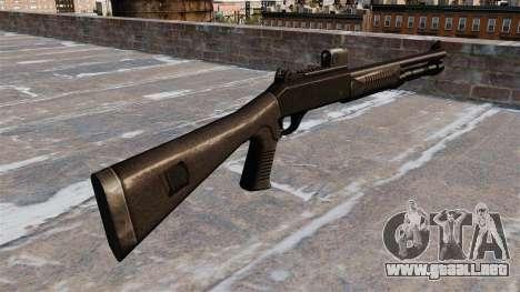 Escopeta semiautomática la Benelli táctico para GTA 4 segundos de pantalla