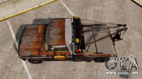 Chevrolet Tow truck rusty Stock para GTA 4 visión correcta