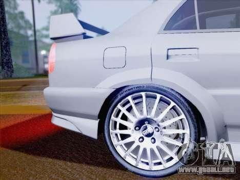 Mitsubishi Lancer Evolution VI LE para la vista superior GTA San Andreas