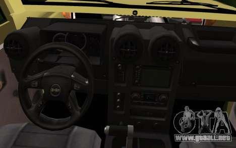 Toyota Land Cruiser Machito 2013 6Puertas 4x4 para la visión correcta GTA San Andreas
