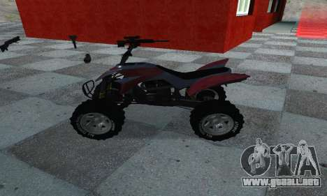 GTA 5 Blazer ATV para GTA San Andreas left