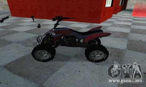 GTA 5 Blazer ATV para GTA San Andreas left
