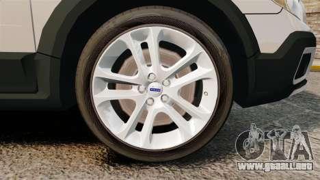 Volvo XC70 Unmarked [ELS] para GTA 4 vista hacia atrás