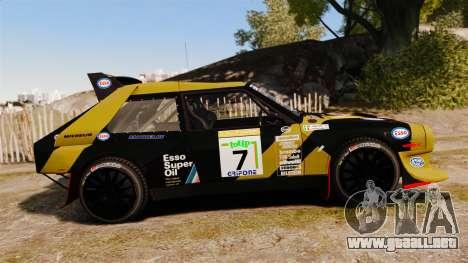 Lancia Delta S4 GroupB para GTA 4 left
