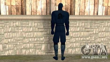 Ninja para GTA San Andreas segunda pantalla
