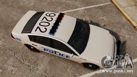 Pinnacle Police LCPD [ELS] para GTA 4 visión correcta