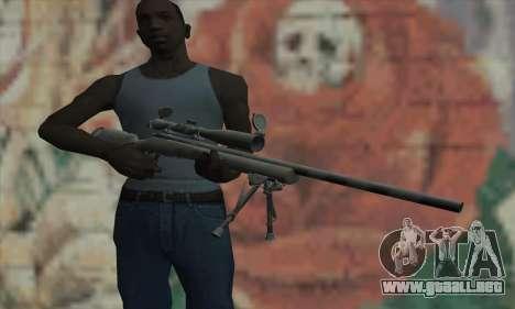 M24 para GTA San Andreas tercera pantalla