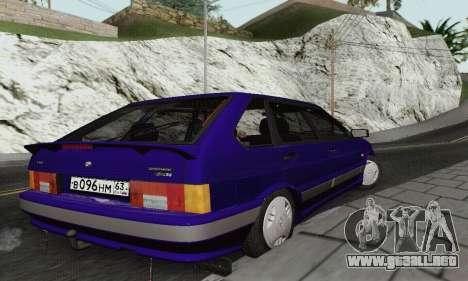 2114 Ba3 para GTA San Andreas vista hacia atrás