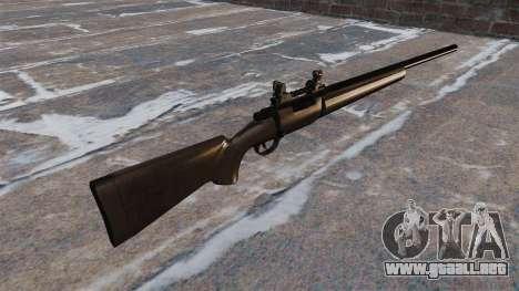 Rifle de francotirador Remington 700 para GTA 4 segundos de pantalla