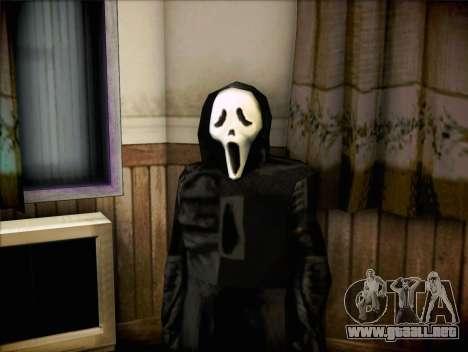 Maníaco de la película Scream para GTA San Andreas